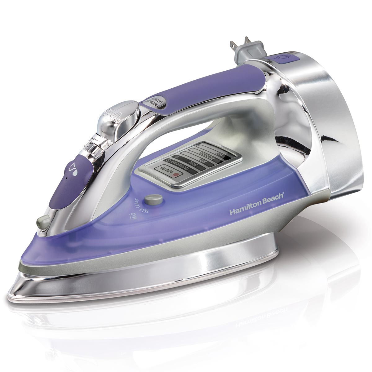 Electronic Iron with Retractable Cord (14956)