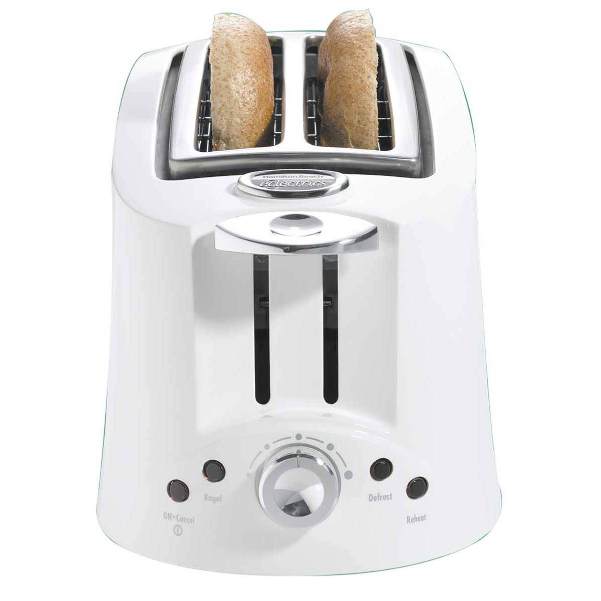 Eclectrics® Sugar (white) All-Metal Toaster (22111)