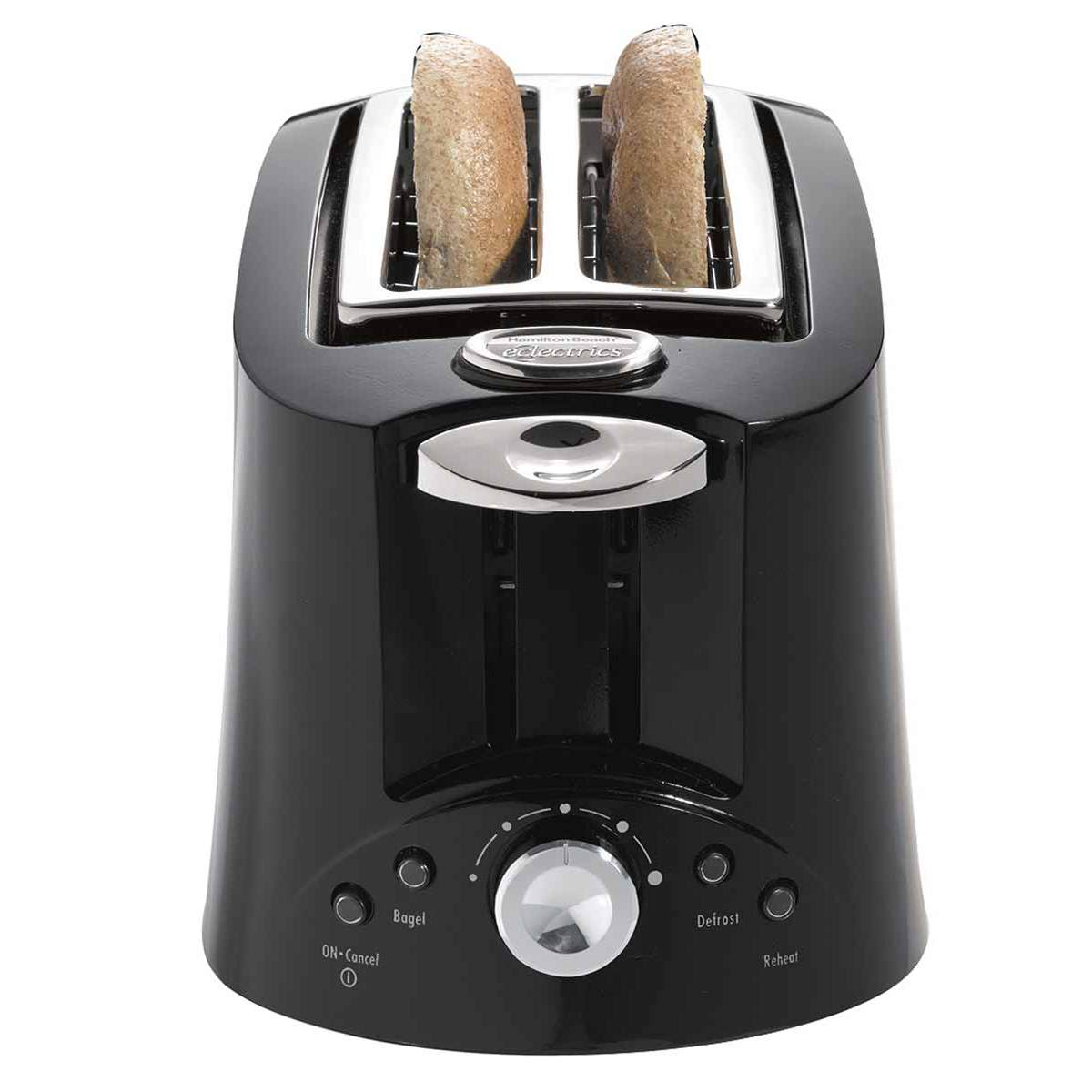 Eclectrics® Licorice (black) All-Metal Toaster (22117)
