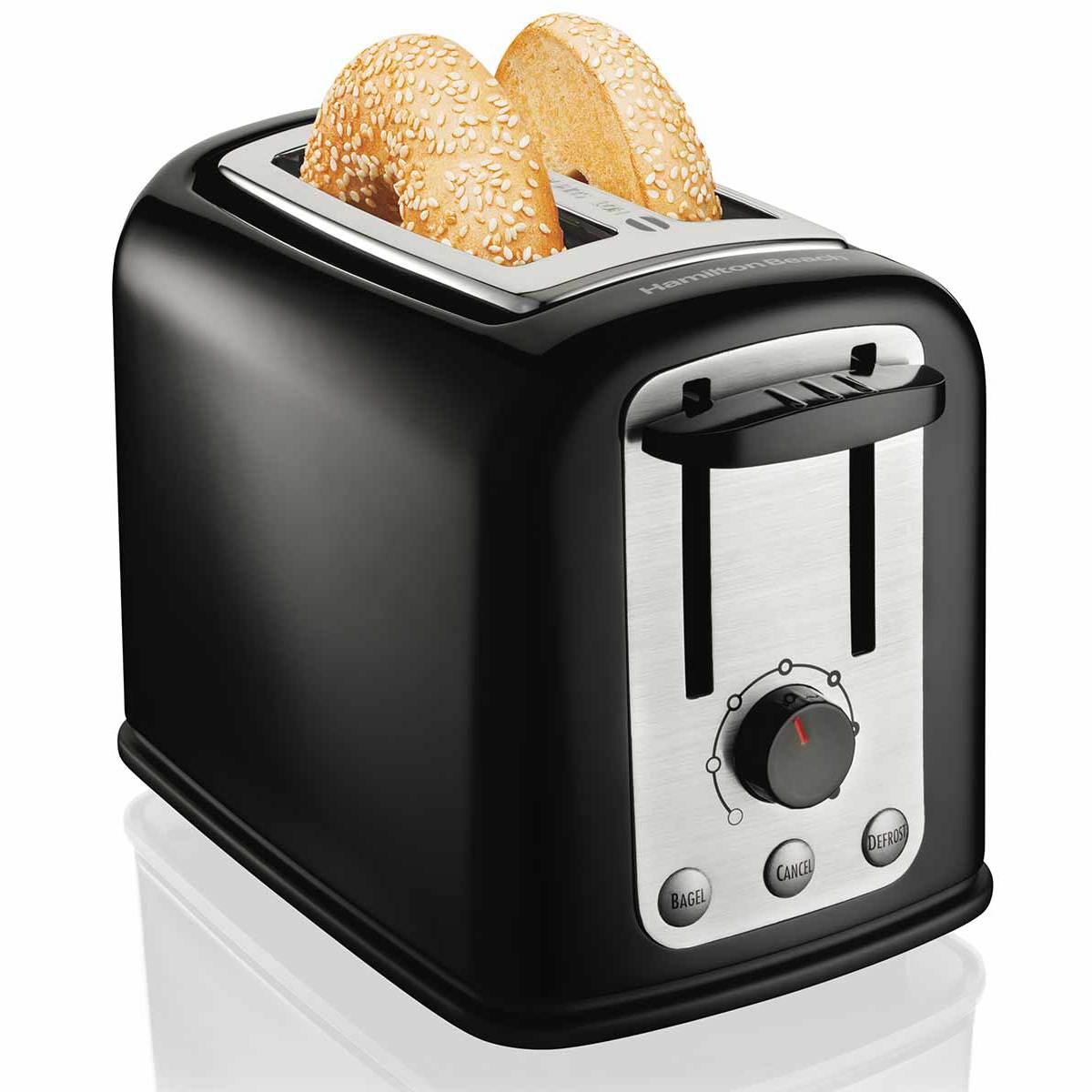 Hamilton Beach Smarttoast 174 Wide Slot Toaster 22444