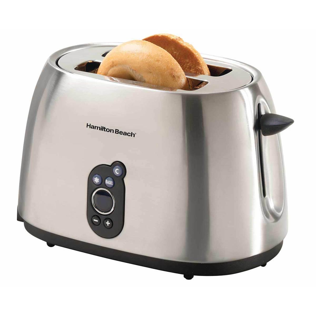 Digital 2 Slice Toaster/Bagel Toaster (22502)