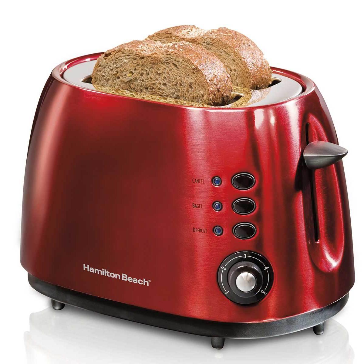 2 Slice Metal Toaster E HamiltonBeach