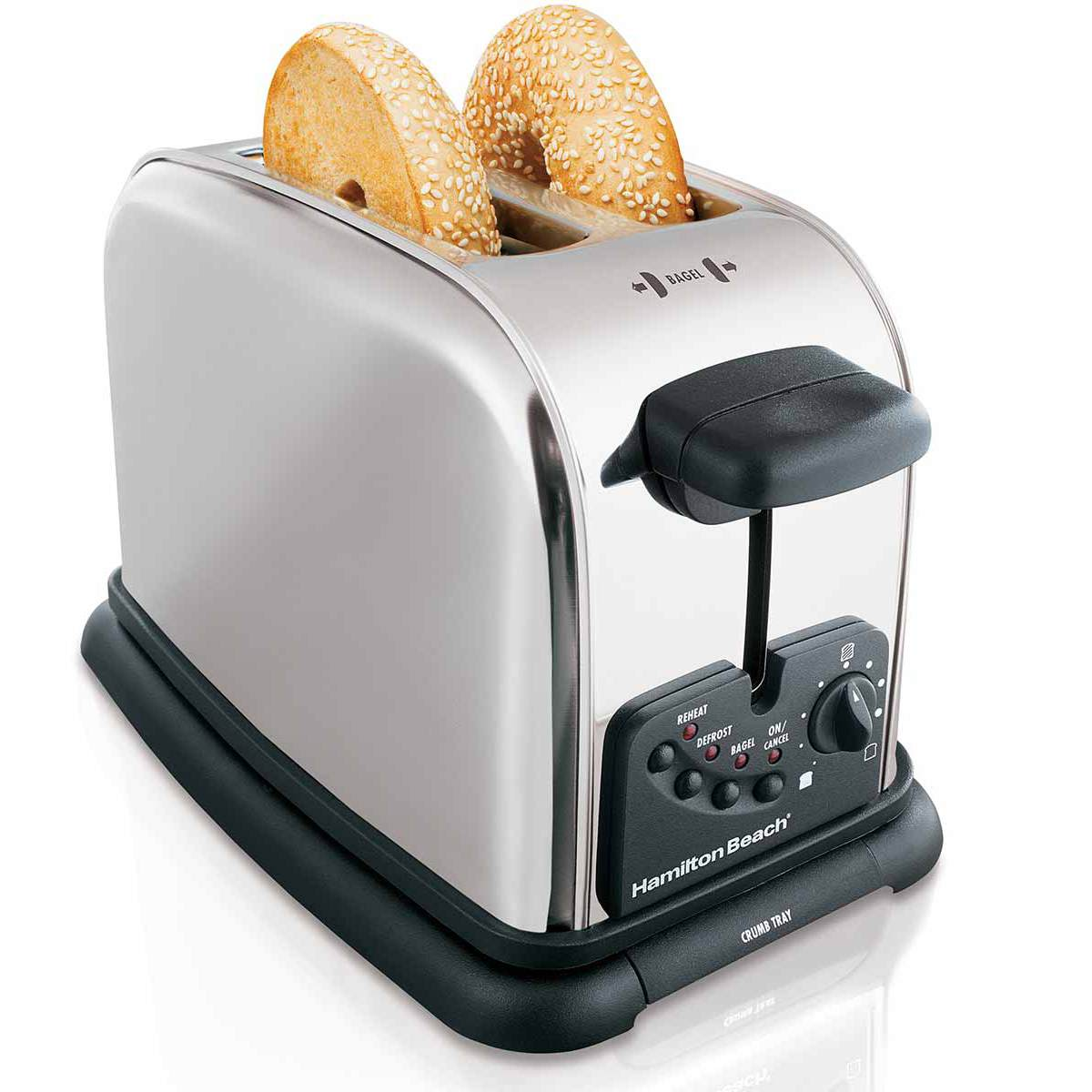 Classic Chrome 2 Slice Toaster (22600)