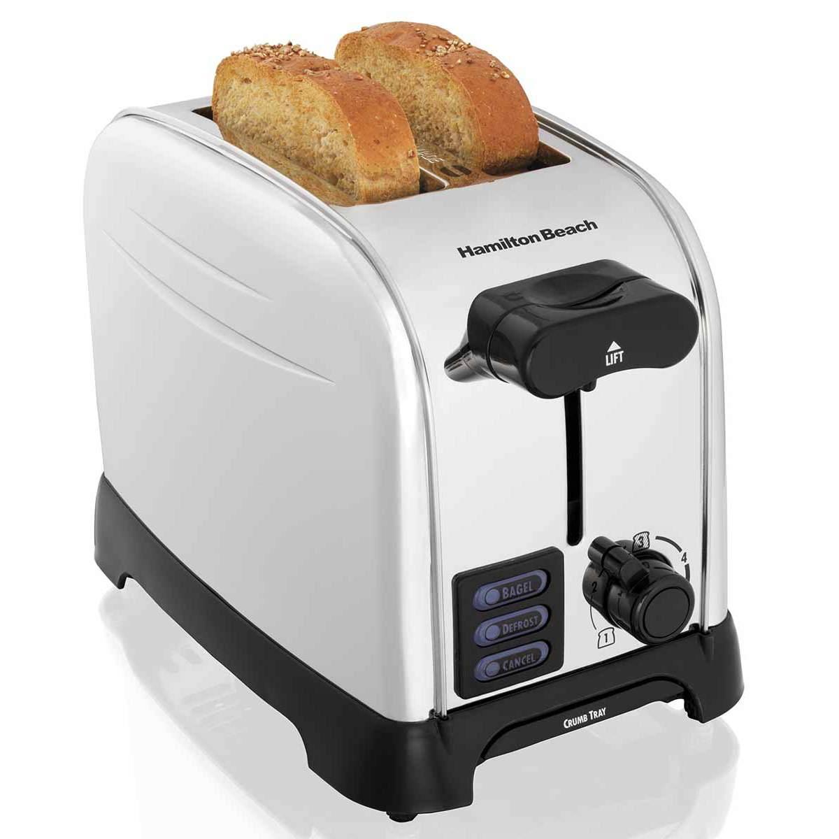 PerfectToast Chrome 2 Slice Toaster (22601)