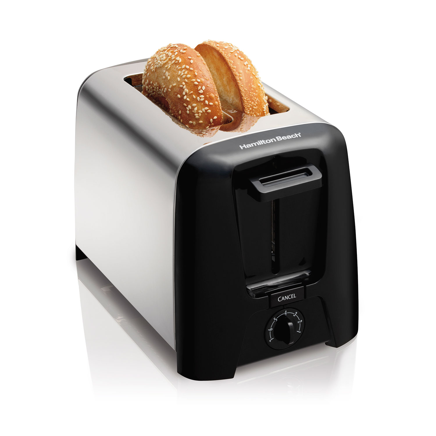2 Slice Chrome Toaster (22614R)