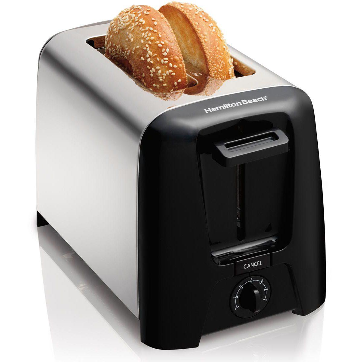 2 Slice Chrome Toaster (22614Z)