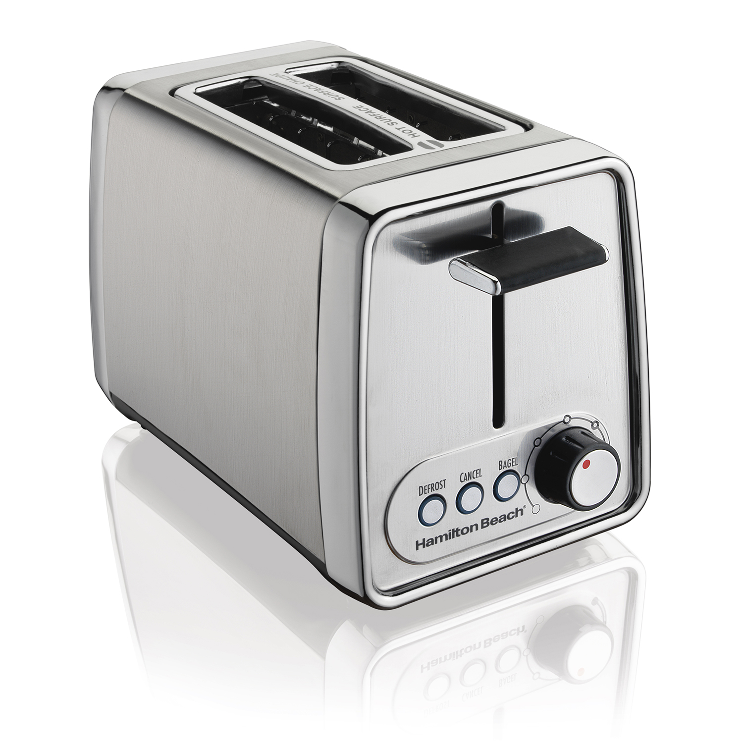 Modern Chrome 2 Slice Toaster (22781)