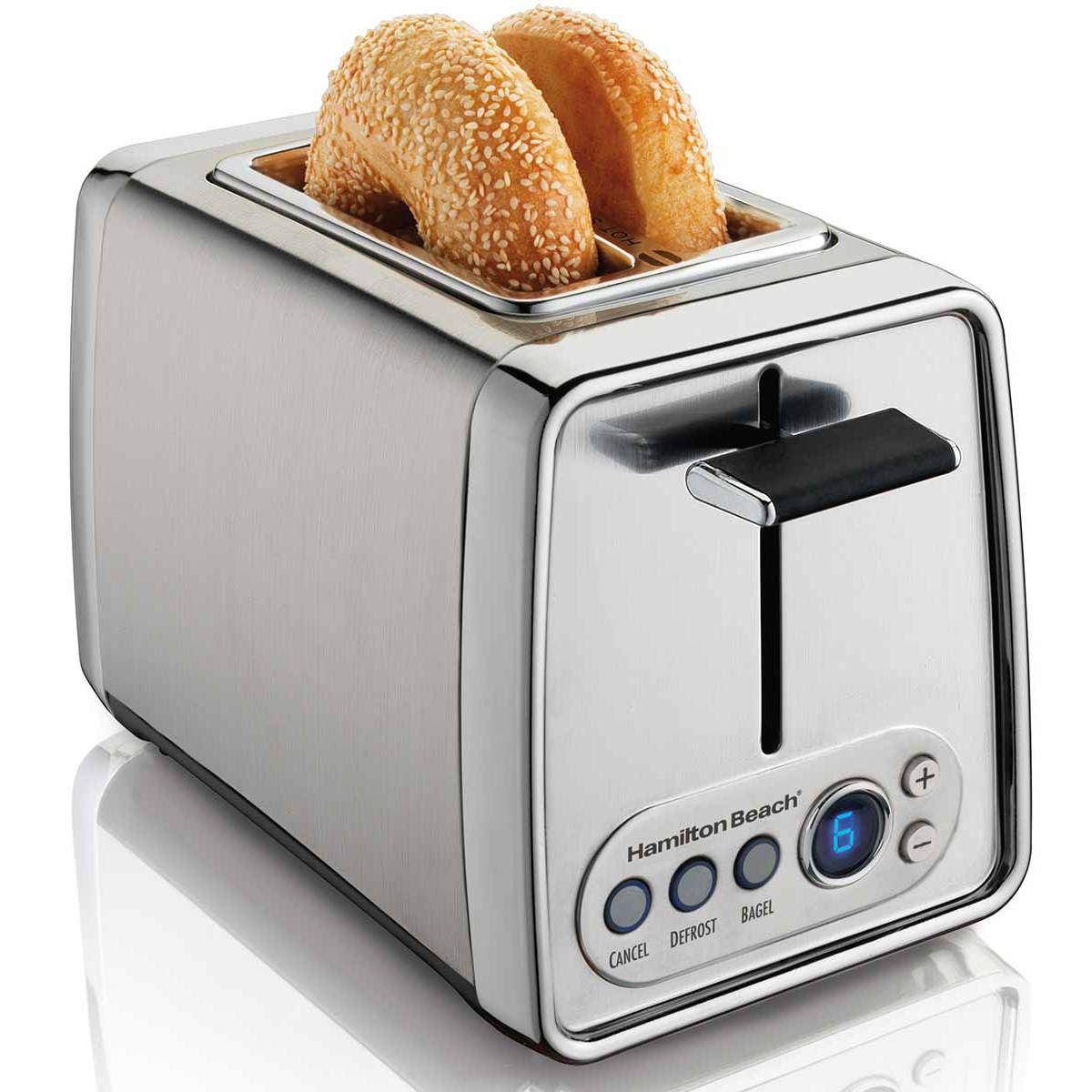 Modern Chrome 2 Slice Toaster (22792)
