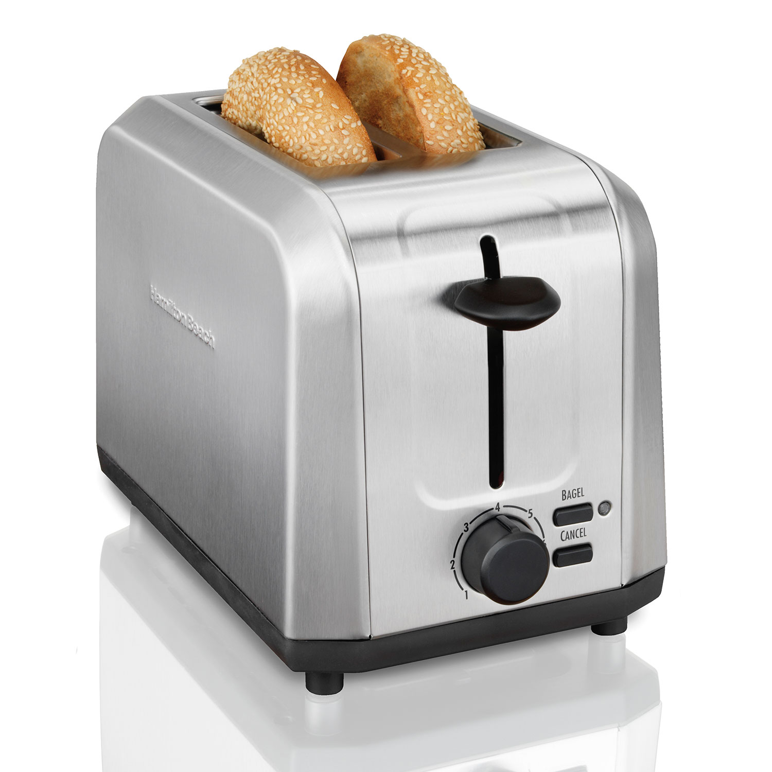 2 Slice Brushed Stainless Steel Toaster (22911)