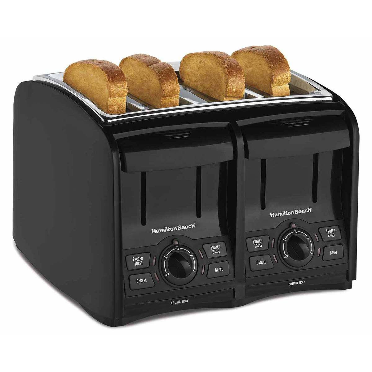PerfectToast 4 Slice Toaster - Black (24121)