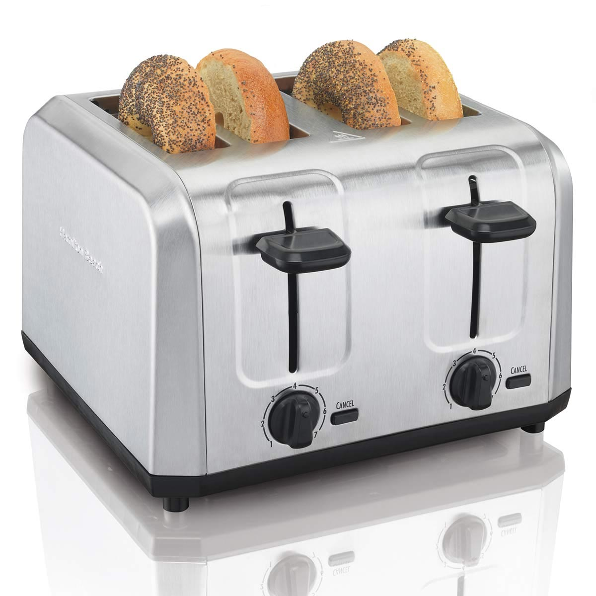 Brushed Stainless Steel 4-Slice Toaster (24910)