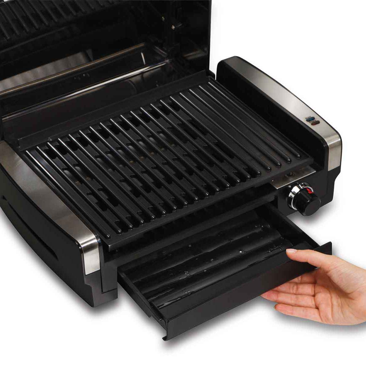Searing Grill with Lid Window (25361)