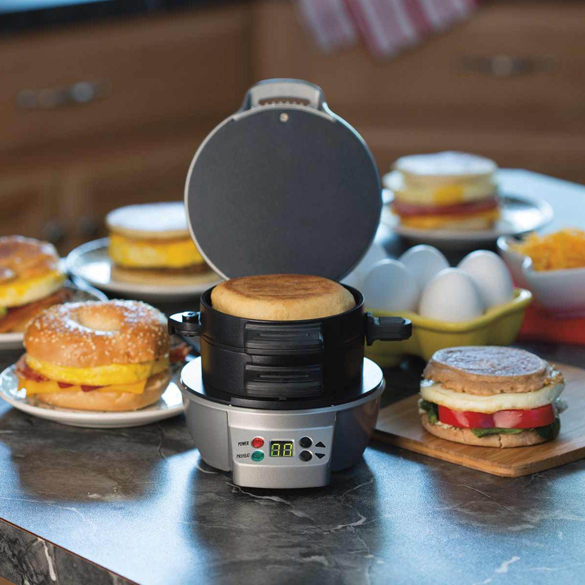 Breakfast Sandwich Maker Timer 25478 Hamiltonbeach Com