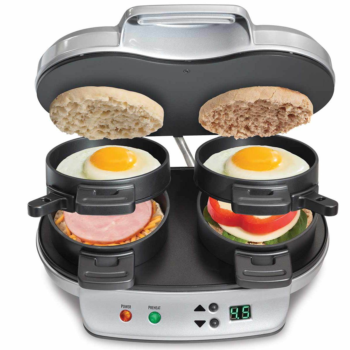 Hamilton Beach Dual Breakfast Sandwich Maker 25490
