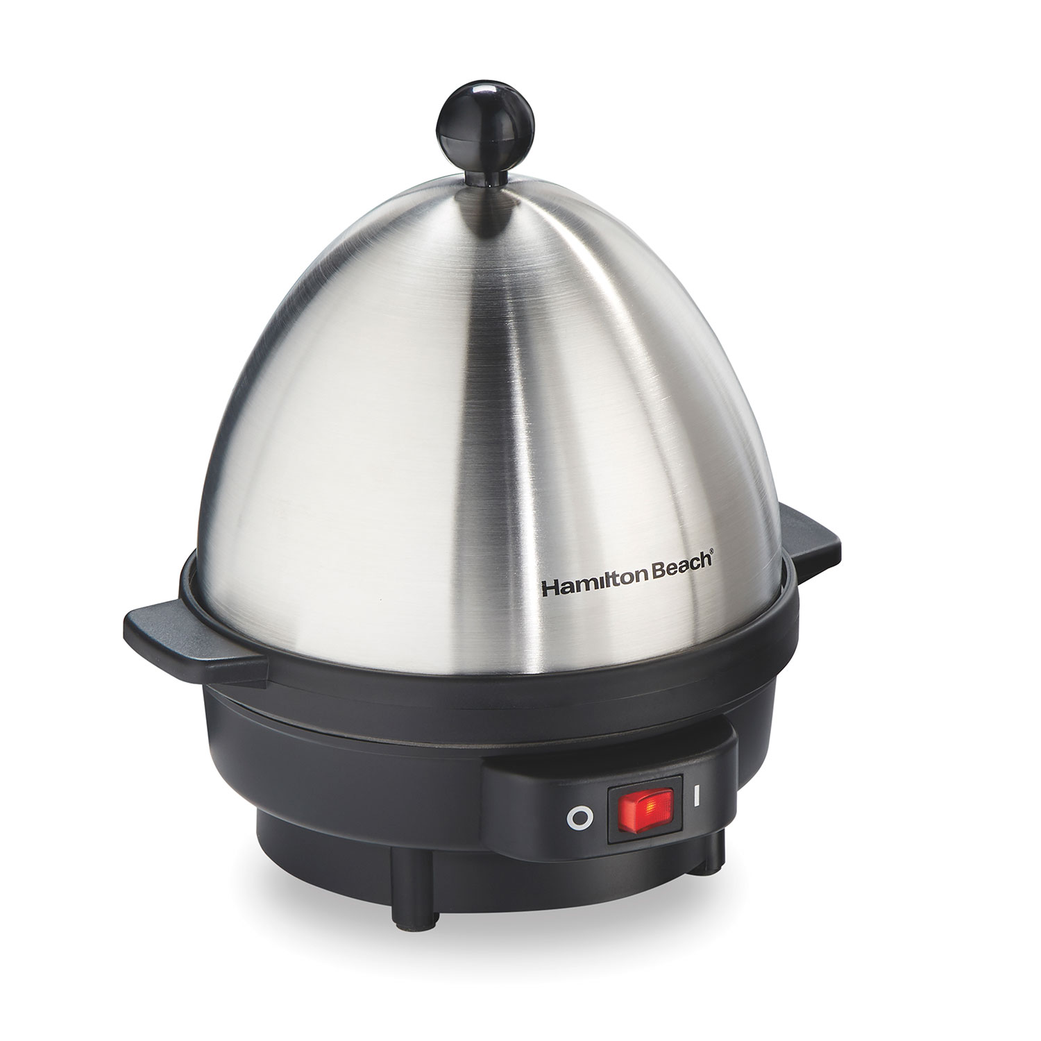 The 25500 Hamilton Beach® Egg Cooker helps you make eggs in a matter of minutes, for quick and easy breakfasts, snacks, side dishes and more.