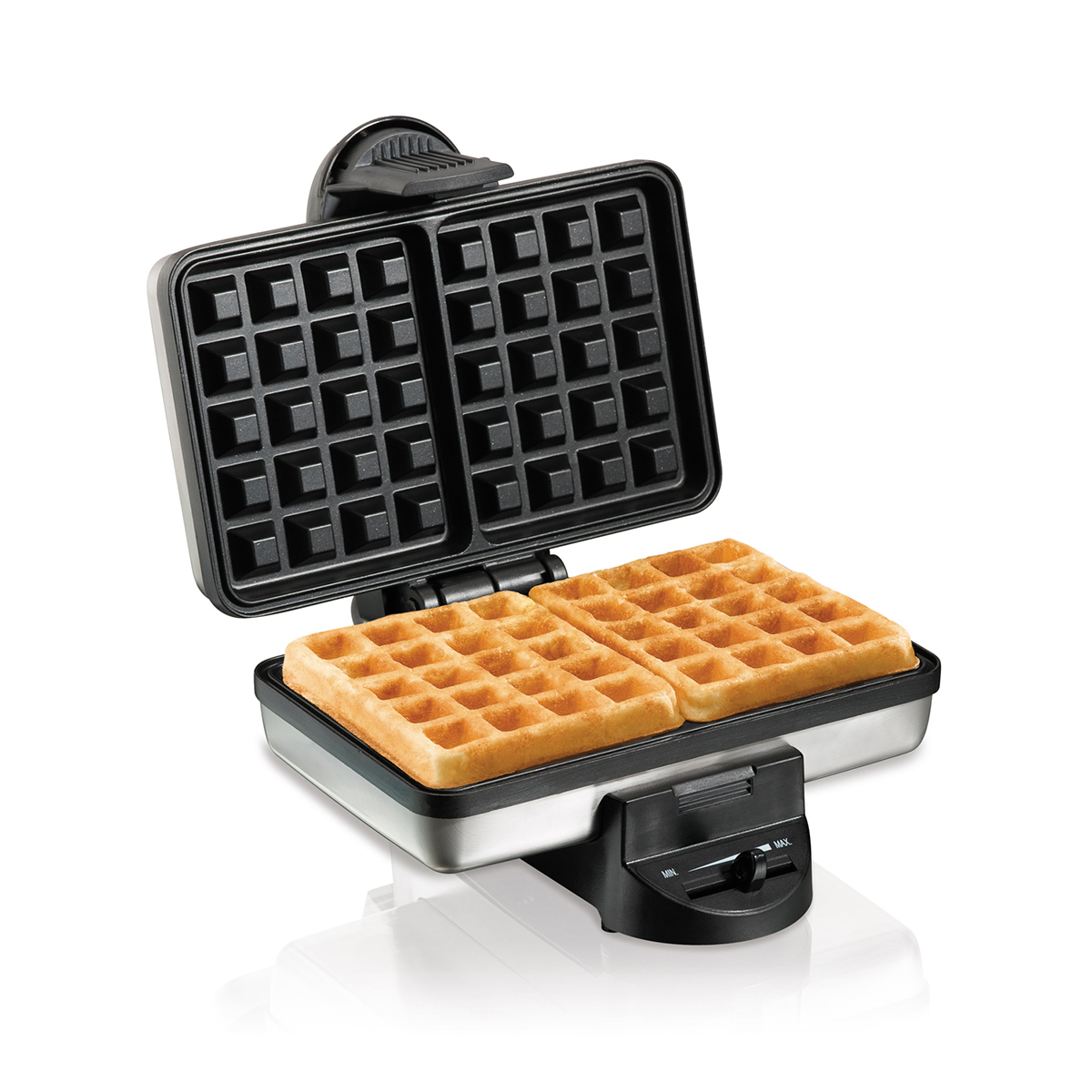 Hamilton Beach 26009 Stainless Steel Belgian-Style Square Waffle Maker - CBS BAHAMAS LTD