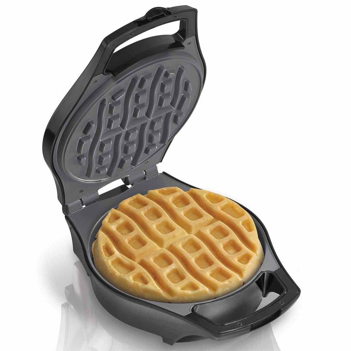 Mess Free Belgian Style  Waffle Maker (26040)