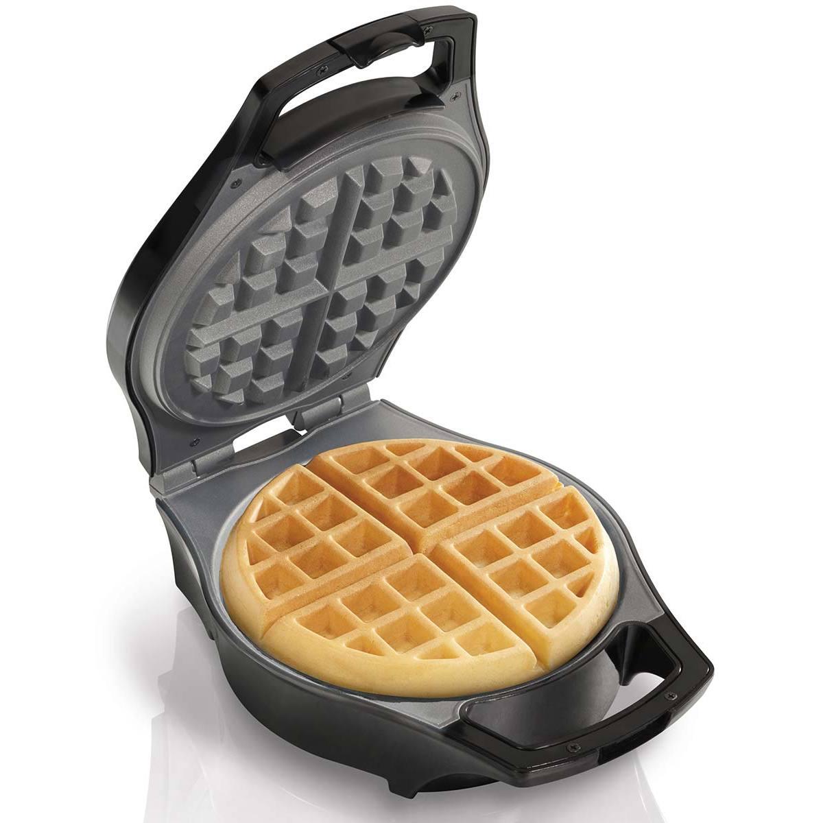 Mess Free Belgian Style Waffle Maker (26042)