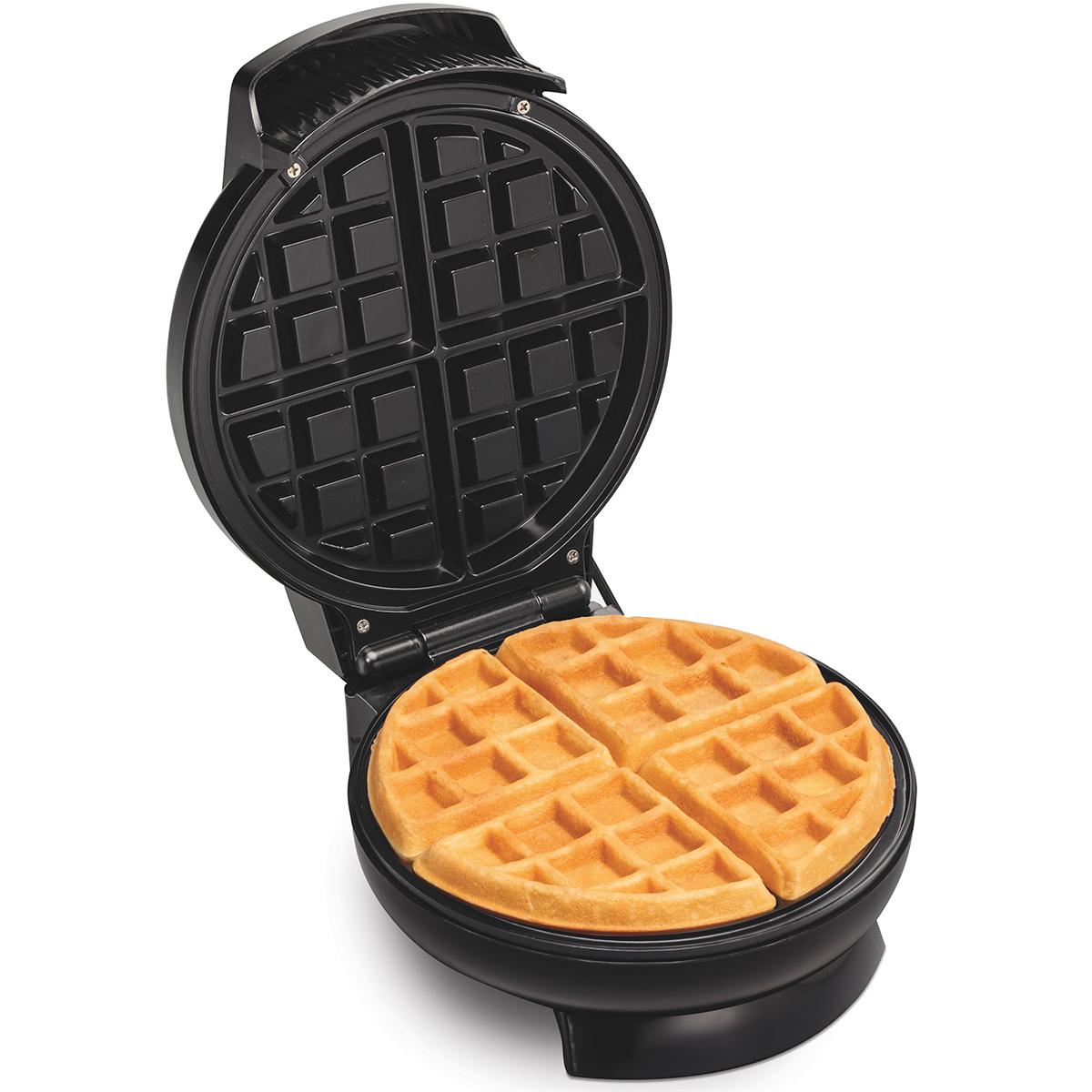 Hamilton Beach 26071 Belgian-Style Round Waffle Maker - CBS BAHAMAS LTD