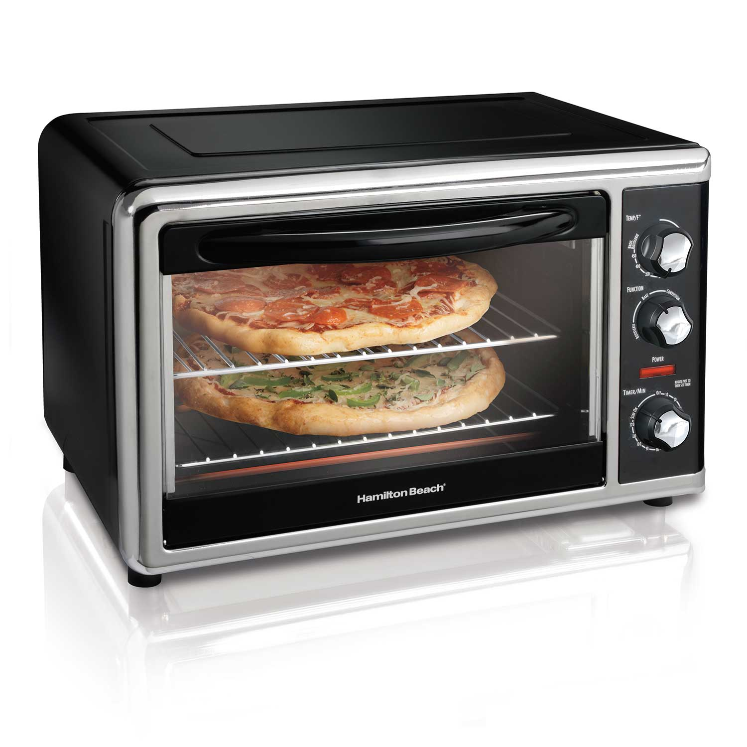 Countertop Oven with Convection and Rotisserie (Black) (31100D)
