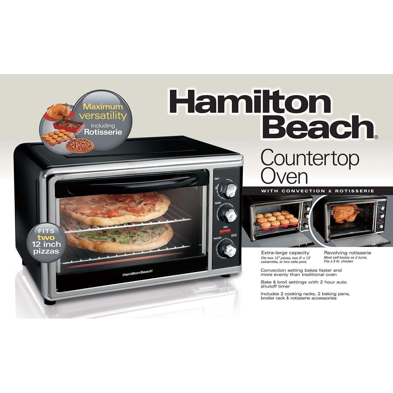 Hamilton Beach Countertop Oven With Convection And