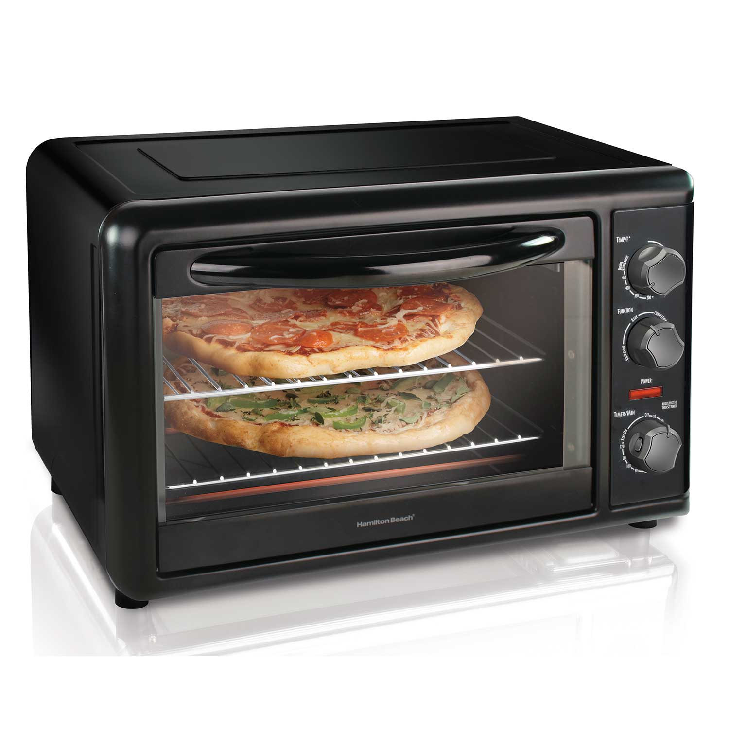 Countertop Oven with Convection and Rotisserie (Black) (31101D)