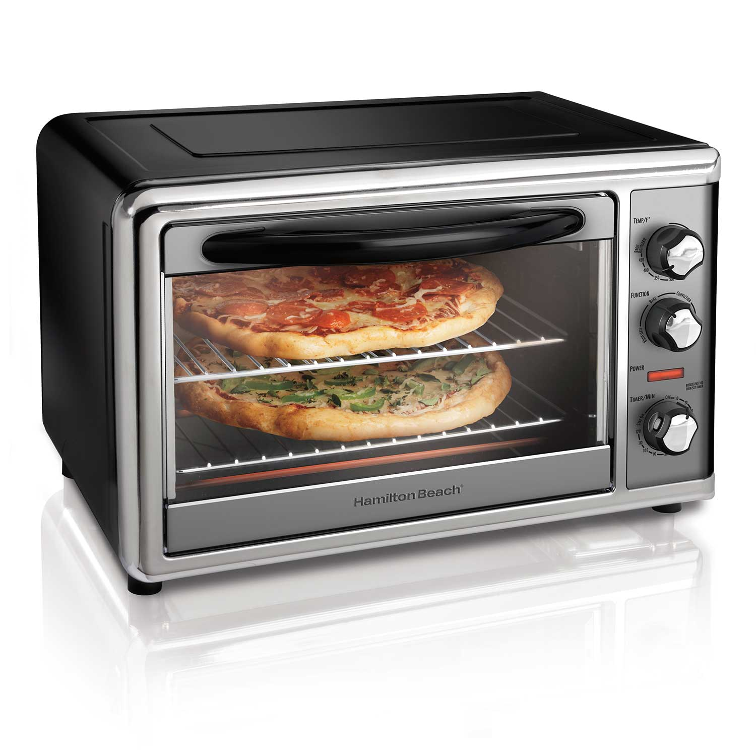 Countertop Oven with Convection and Rotisserie Black, (31104D)