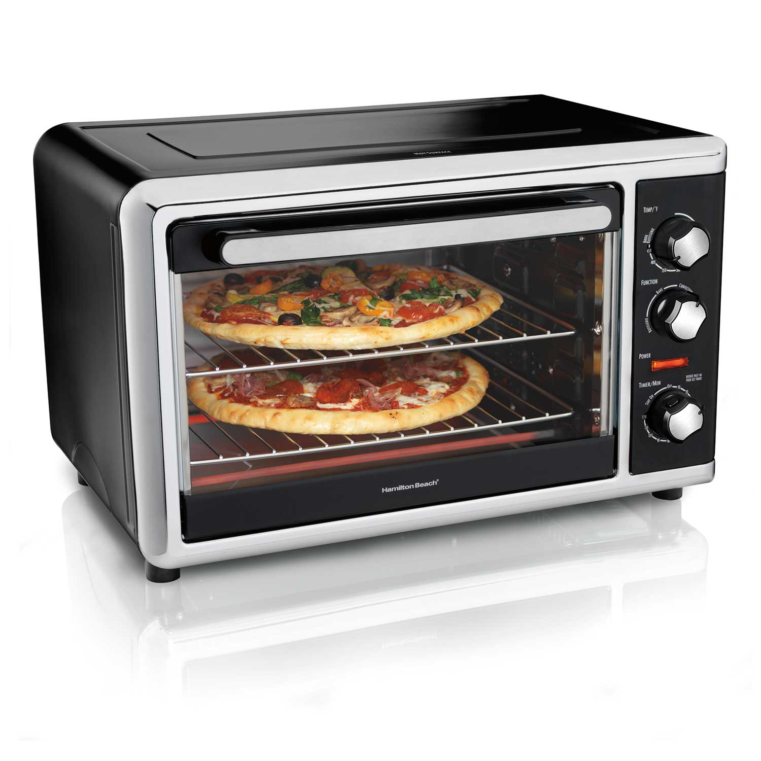 Countertop Oven with Convection and Rotisserie (Black) (31105D)
