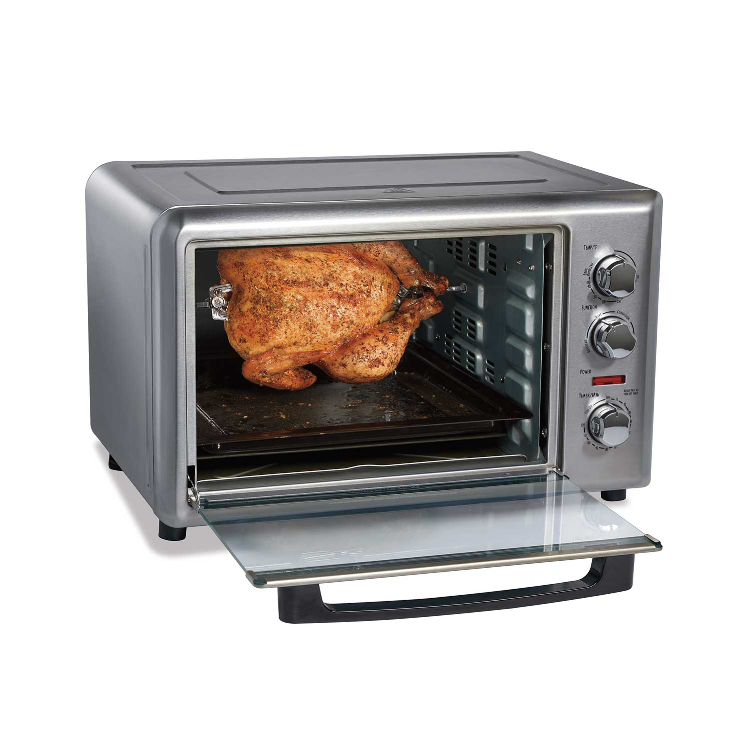 Hamilton Beach Countertop Oven With Convection And Rotisserie 31106