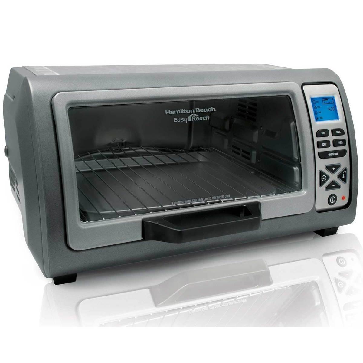 Hamilton Beach 6 Slice Easy Reach Toaster Oven 31128