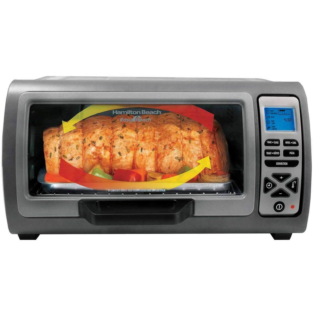 Hamilton Beach 6 Slice Easy Reach™ Toaster Oven