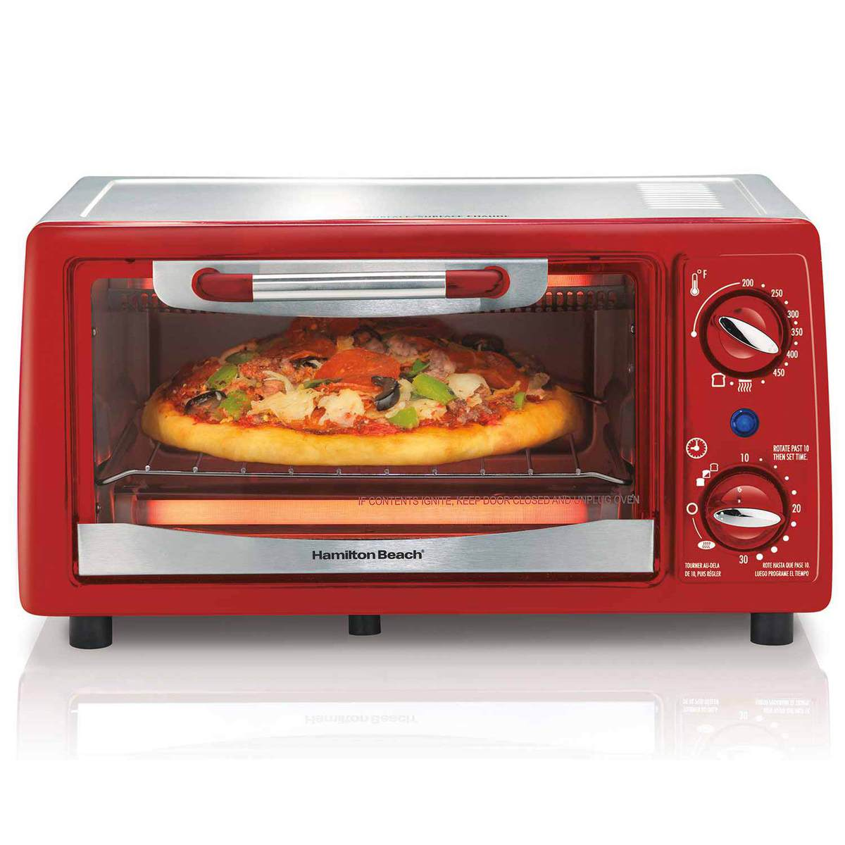 4 Slice Capacity Toaster Oven (31133)