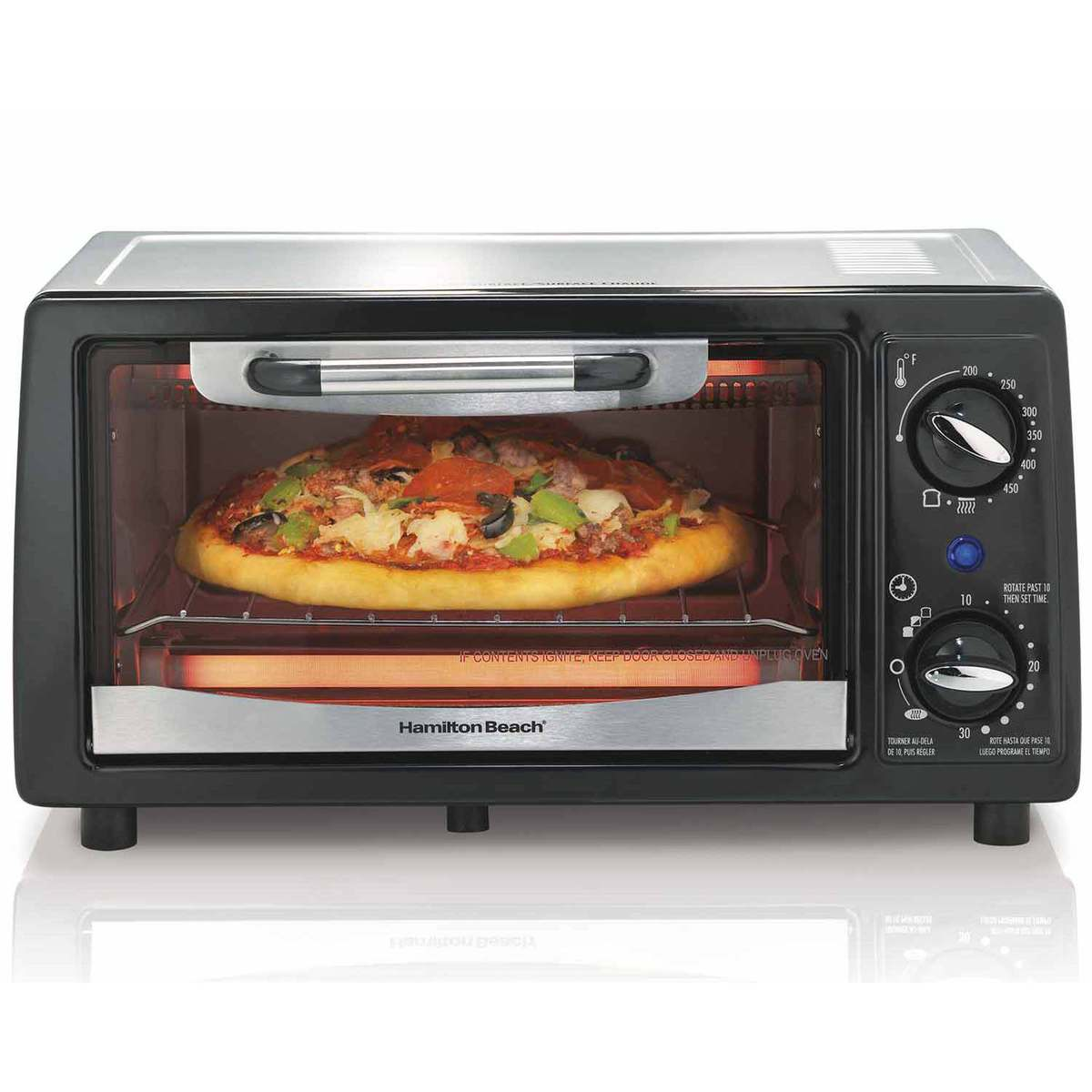 4 Slice Capacity Toaster Oven (31134)