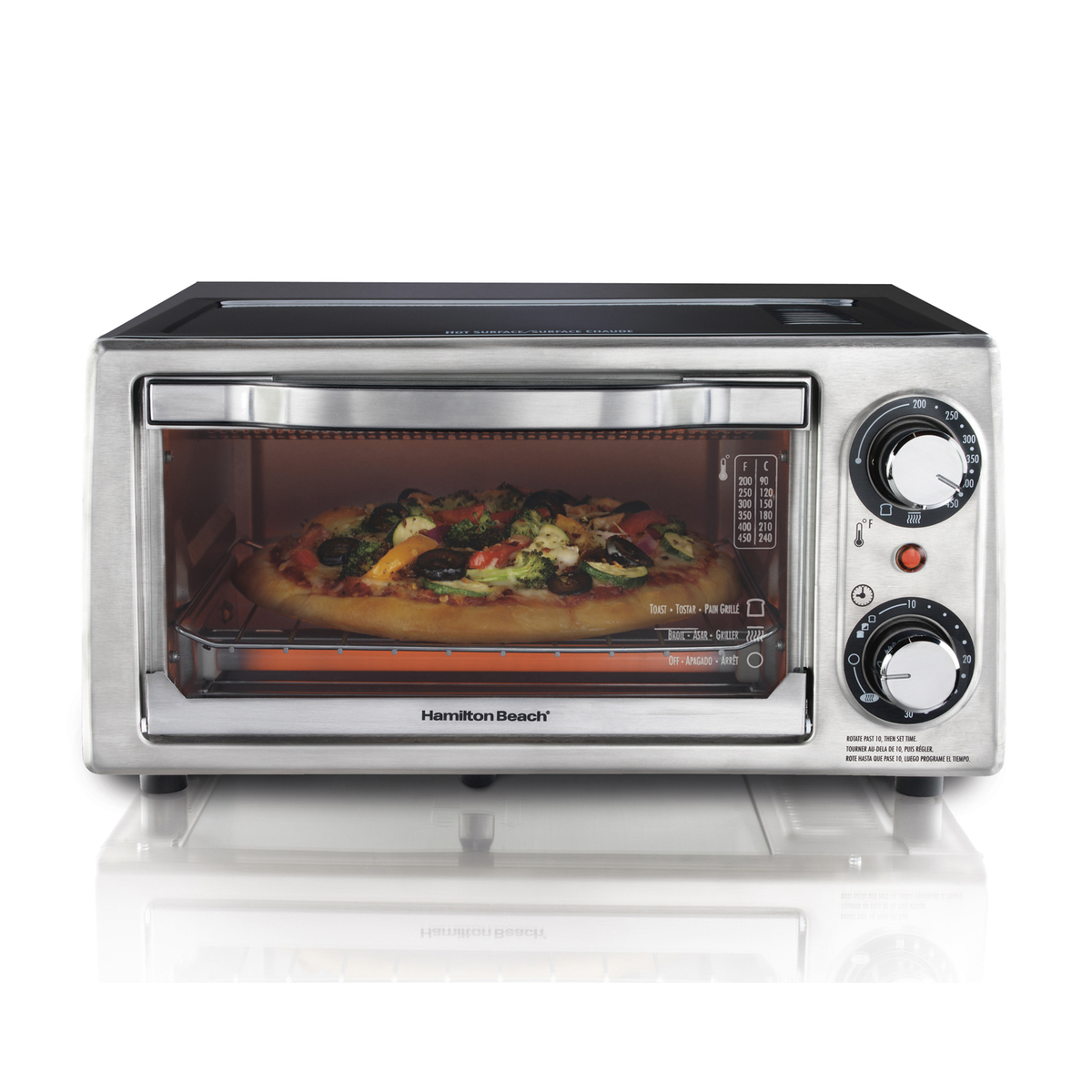 Toaster Oven Parts And Accessories ~ Hamilton beach slice toaster oven