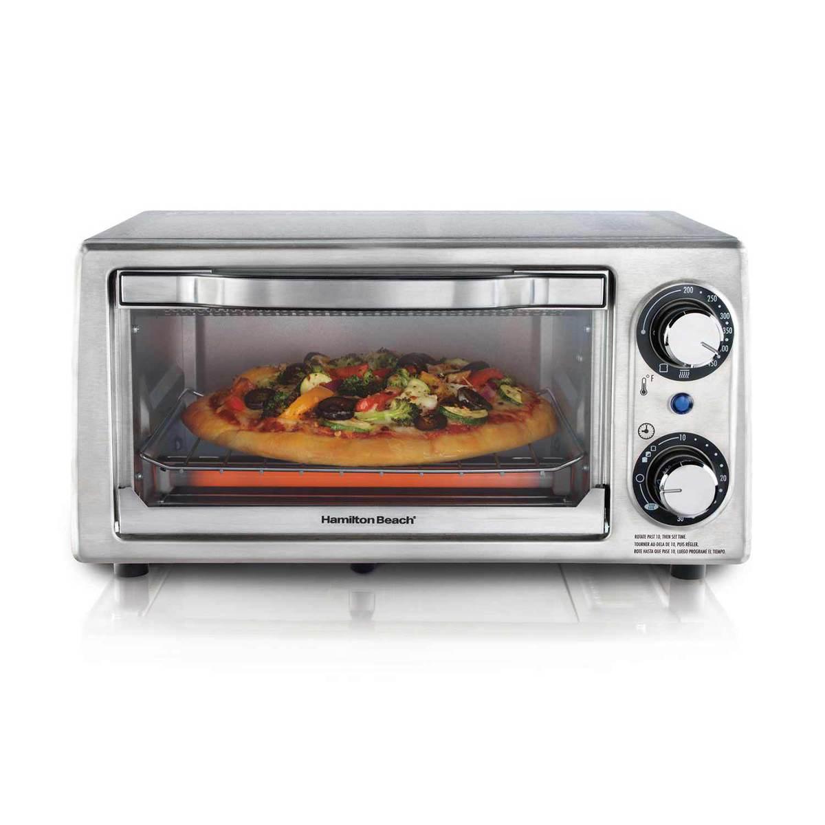 Stainless Steel 4 Slice Toaster Oven (31138)