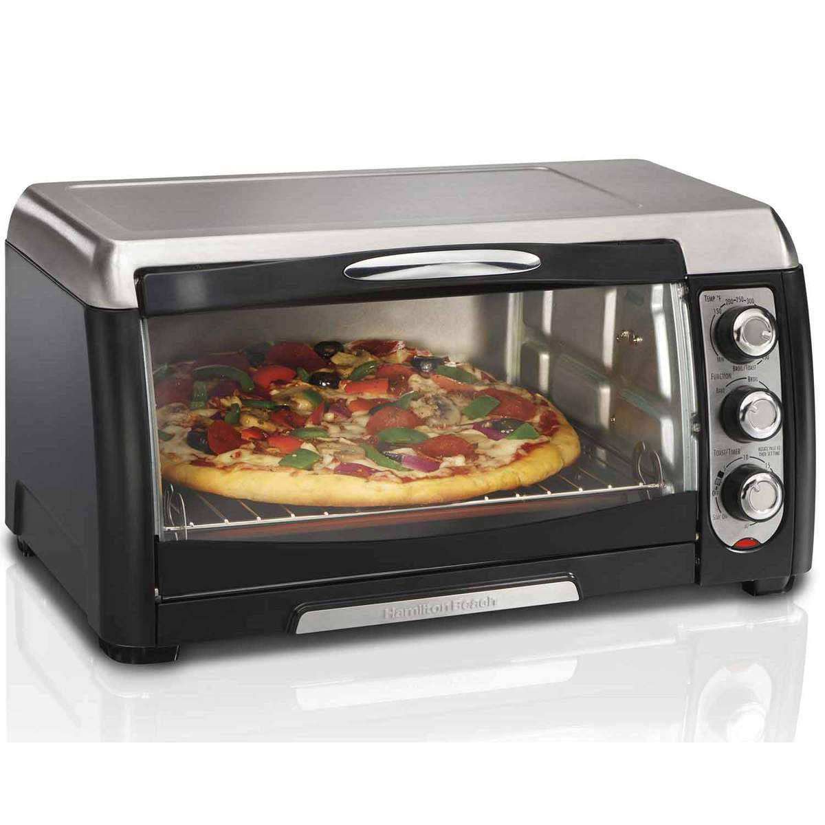 Cream Toaster Ovens ~ Hamilton beach toaster oven