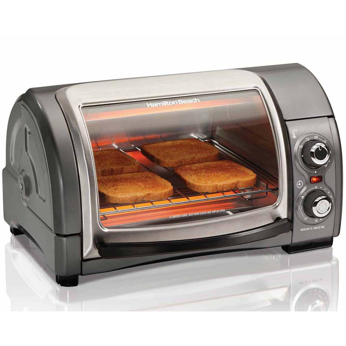 Easy Reach® Toaster Oven with Roll-Top Door (31334)