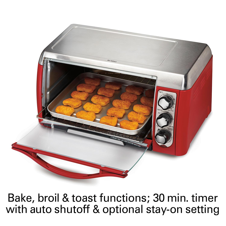 Hamilton Beach Ensemble 6 Slice Toaster Oven 31335d