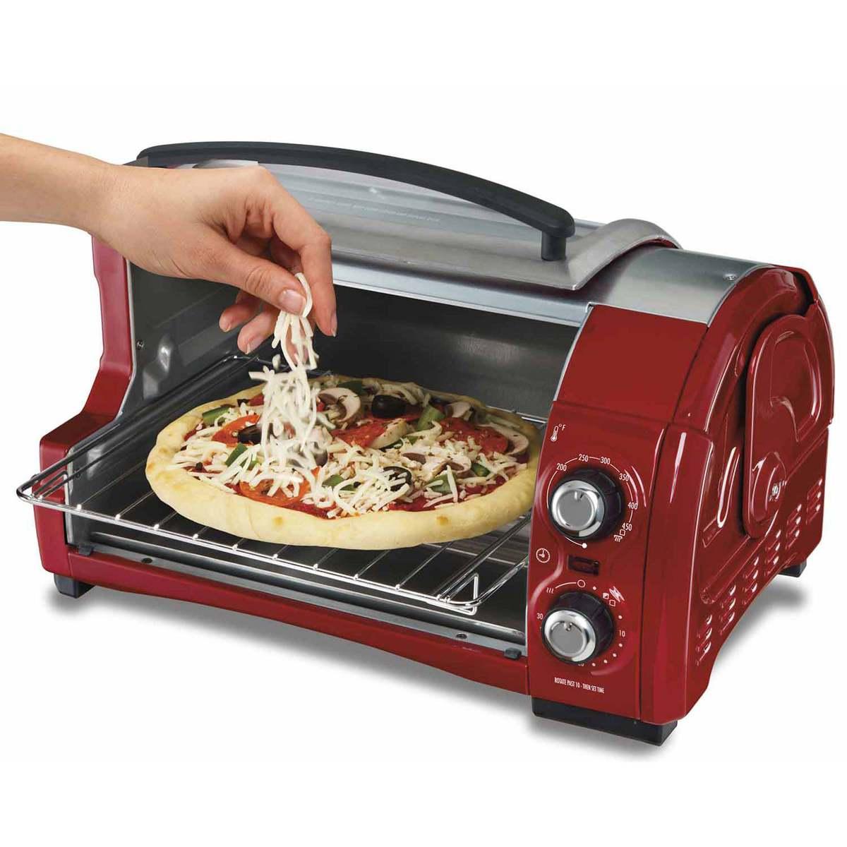 Hamilton Beach Easy Reach 4 Slice Toaster Oven 31337