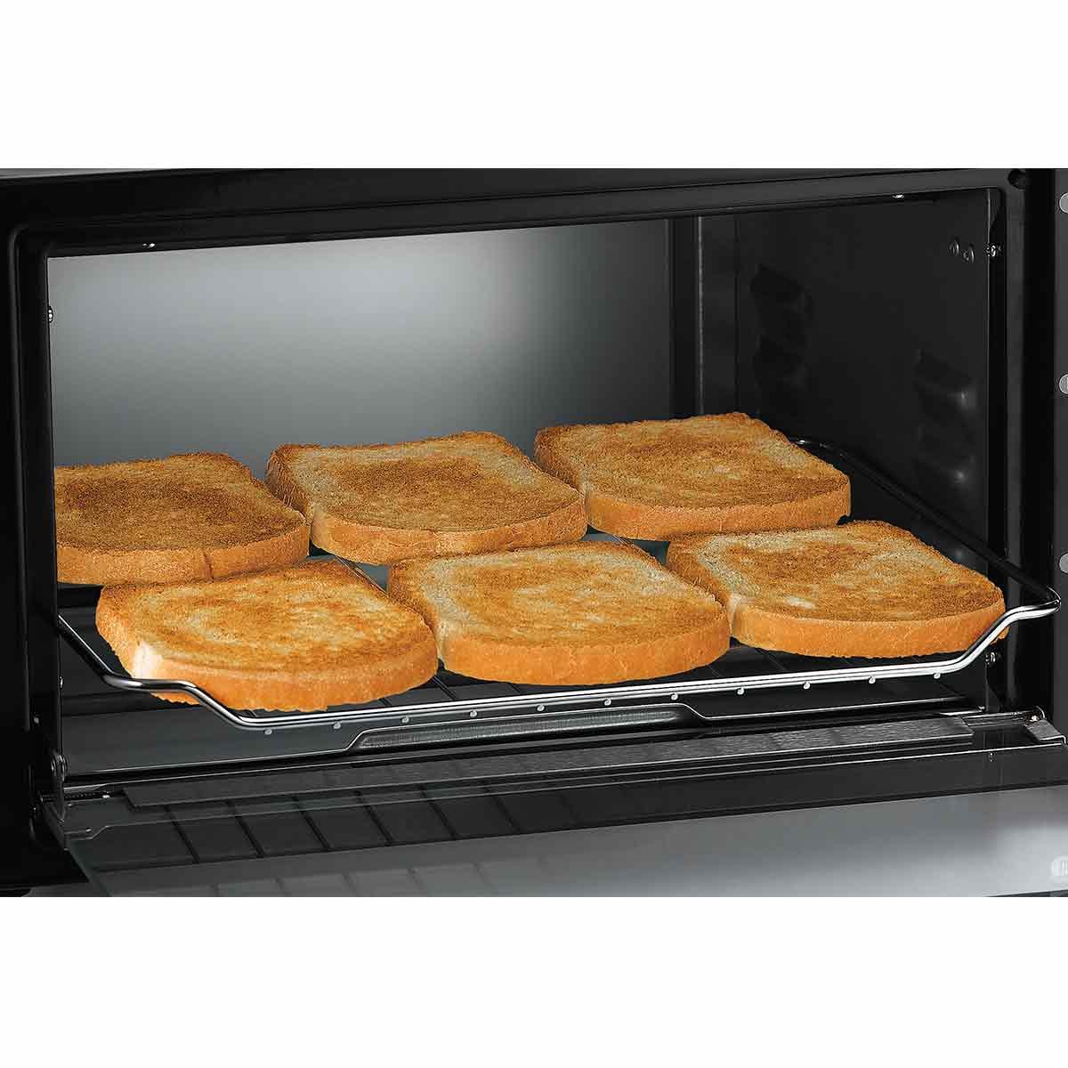 Hamilton Beach Stainless Steel Toaster Oven 31411