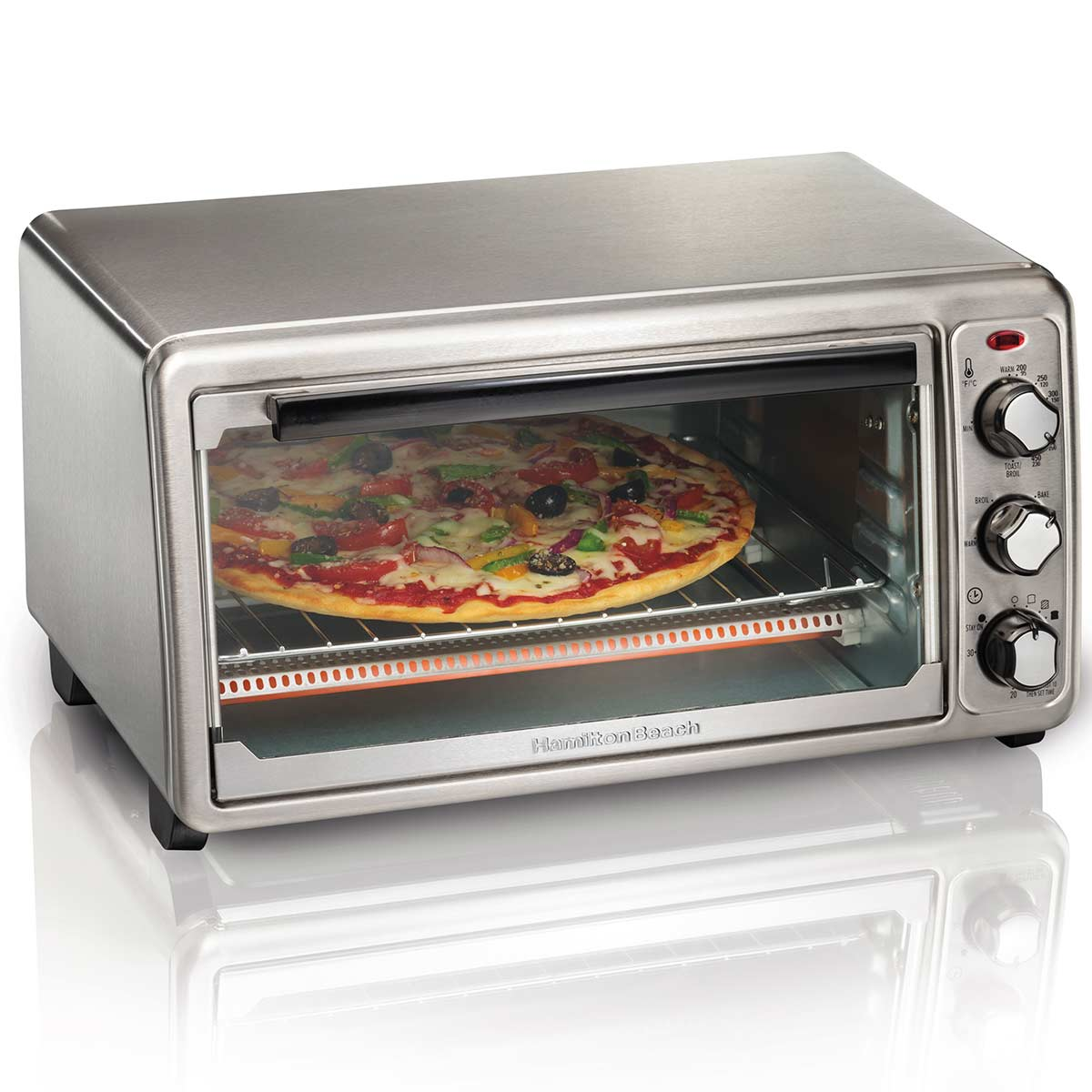 Stainless Steel 6 Slice Toaster Oven (31411)