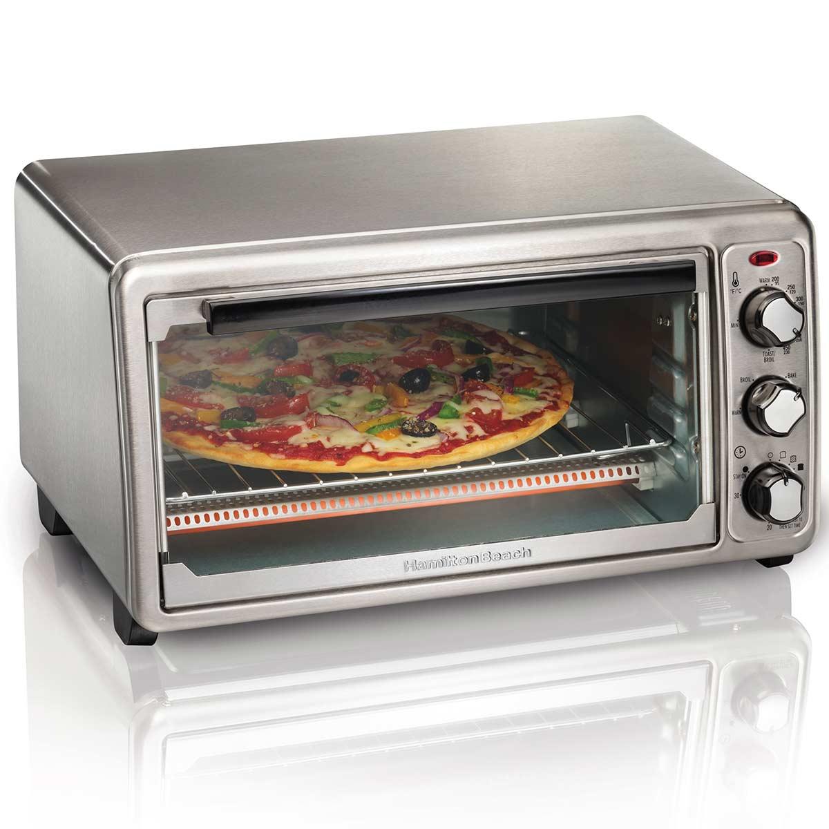 Hamilton Beach Stainless Steel Toaster Oven - 31411