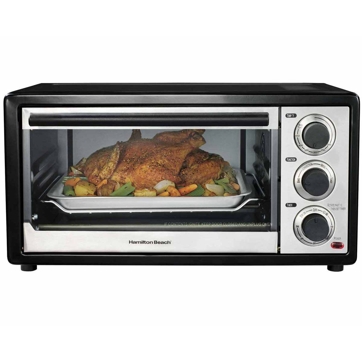Convection 6 Slice/Broiler Toaster Oven (31506)