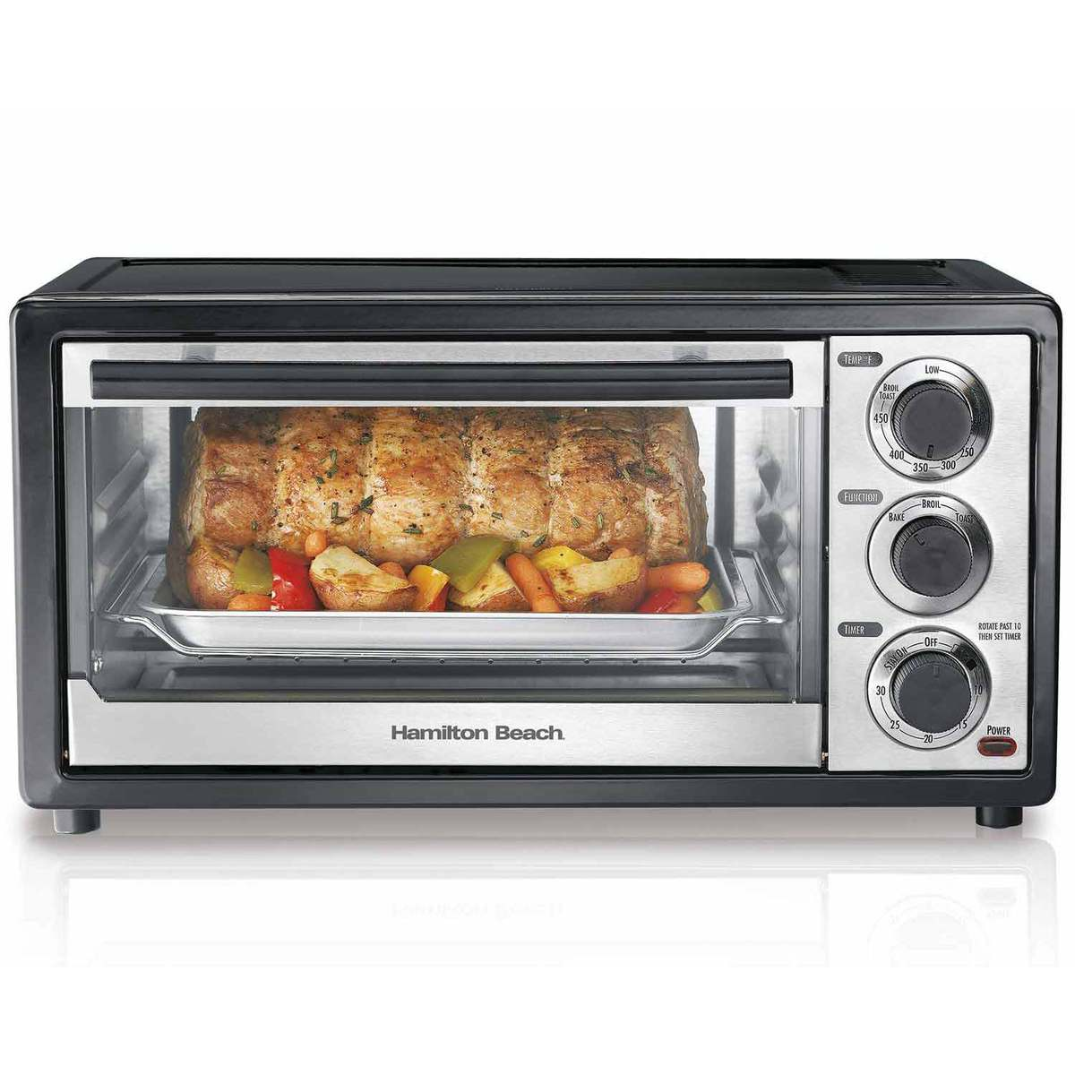 Hamilton Beach 6 Slice Capacity Toaster Oven 31508