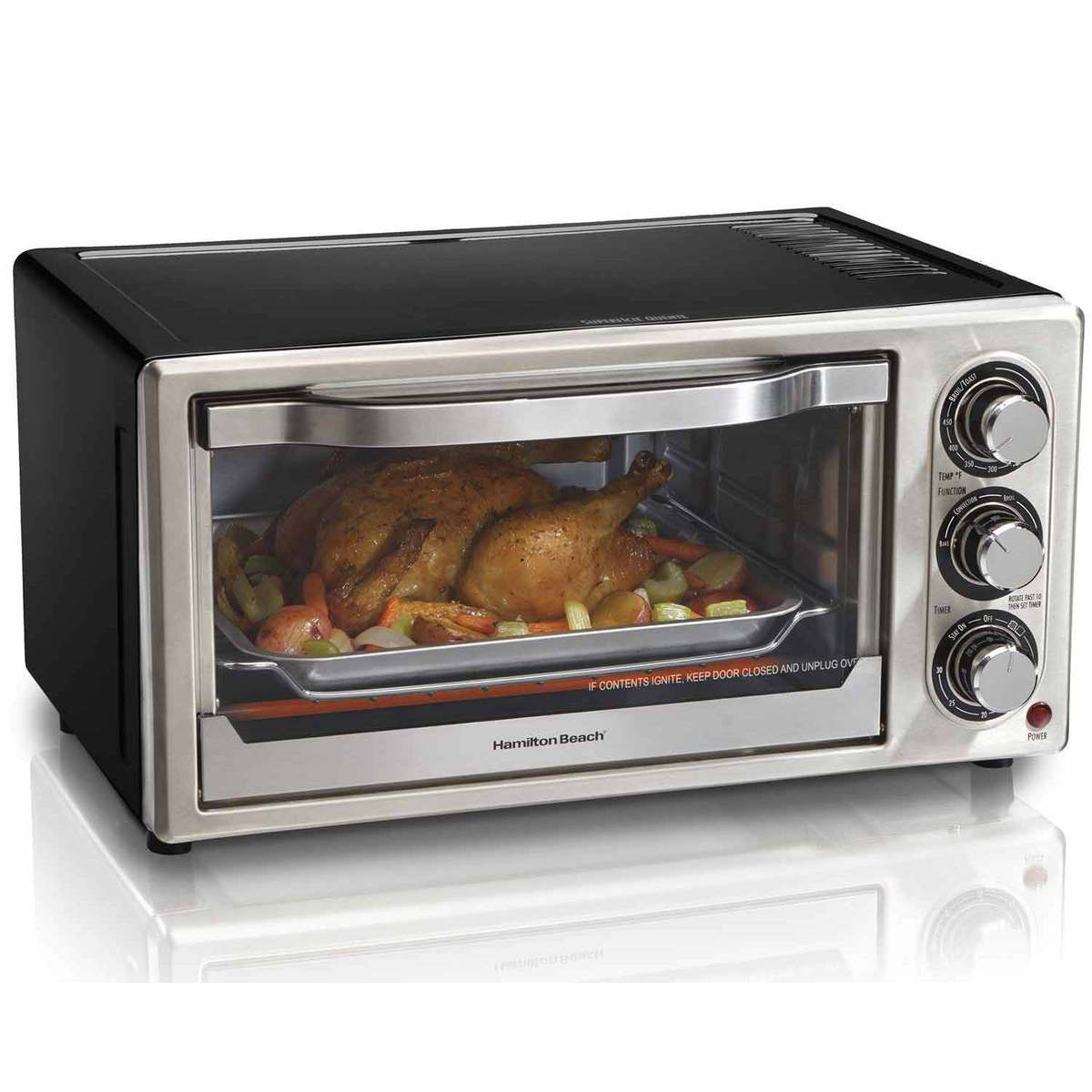Convection 6 Slice Toaster Oven (31512)