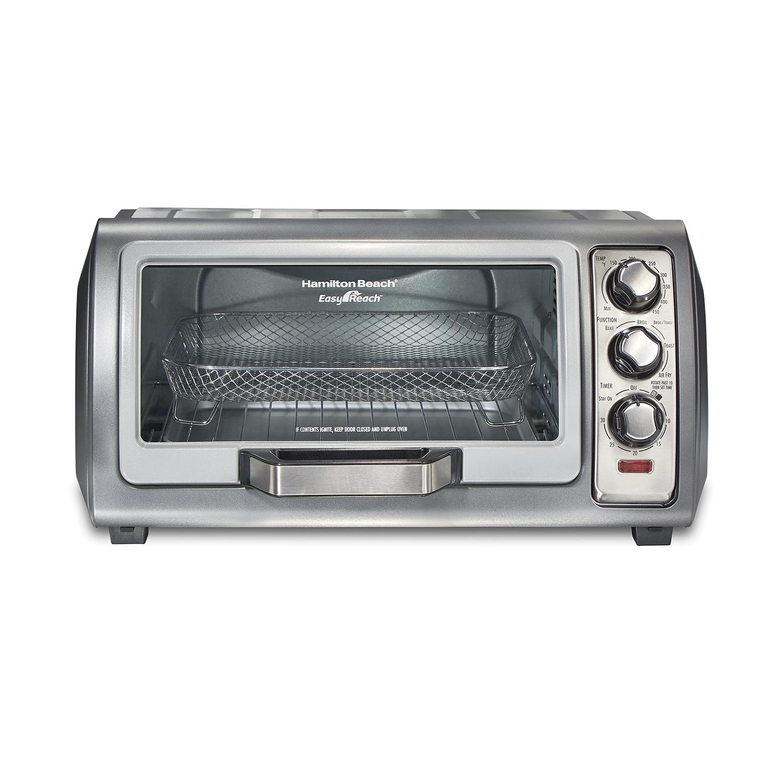Hamilton Beach 31323 Sure-Crisp Air Fry Toaster Oven Steel 6 Slice Capacity