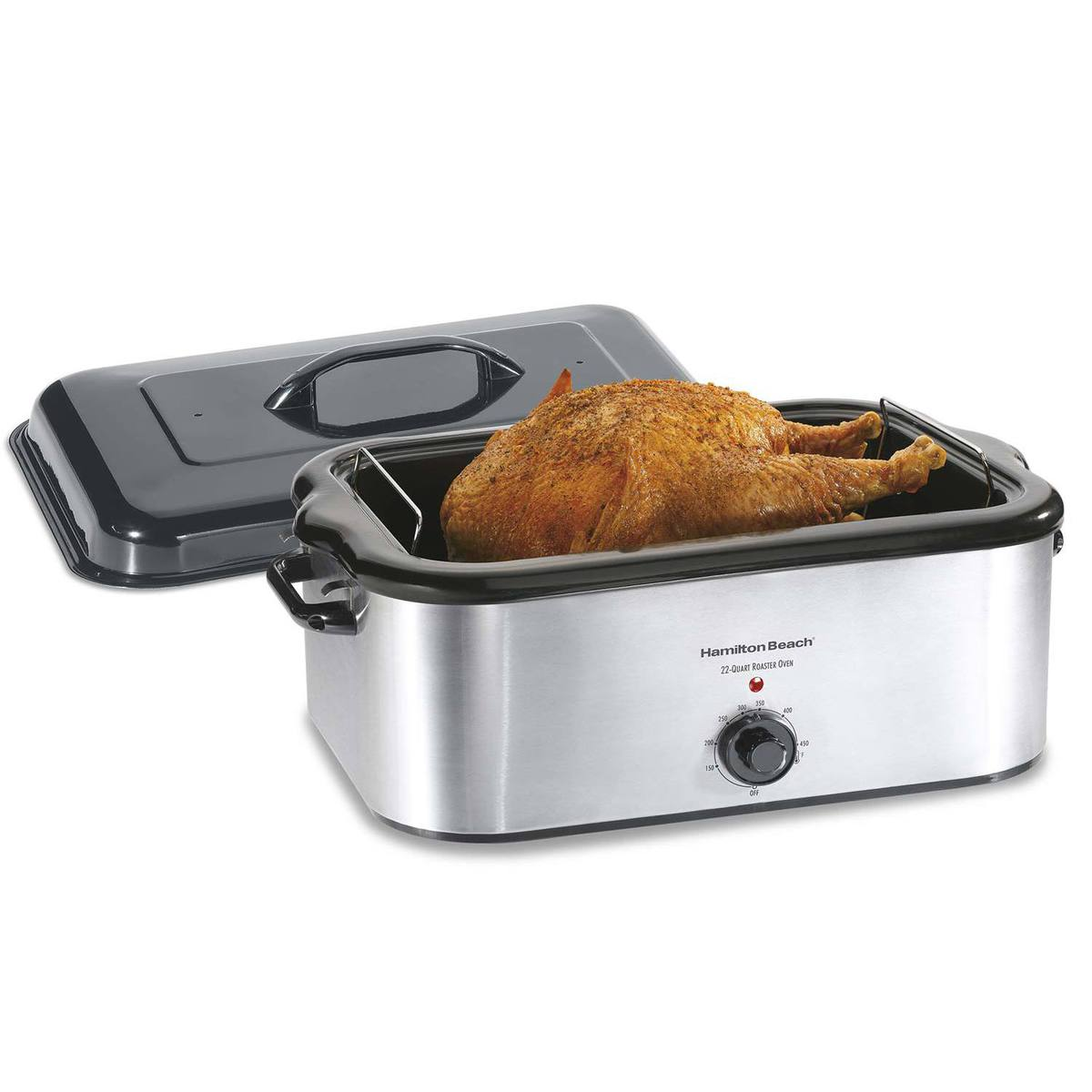Stainless Steel 22 Quart Roaster Oven (32229)