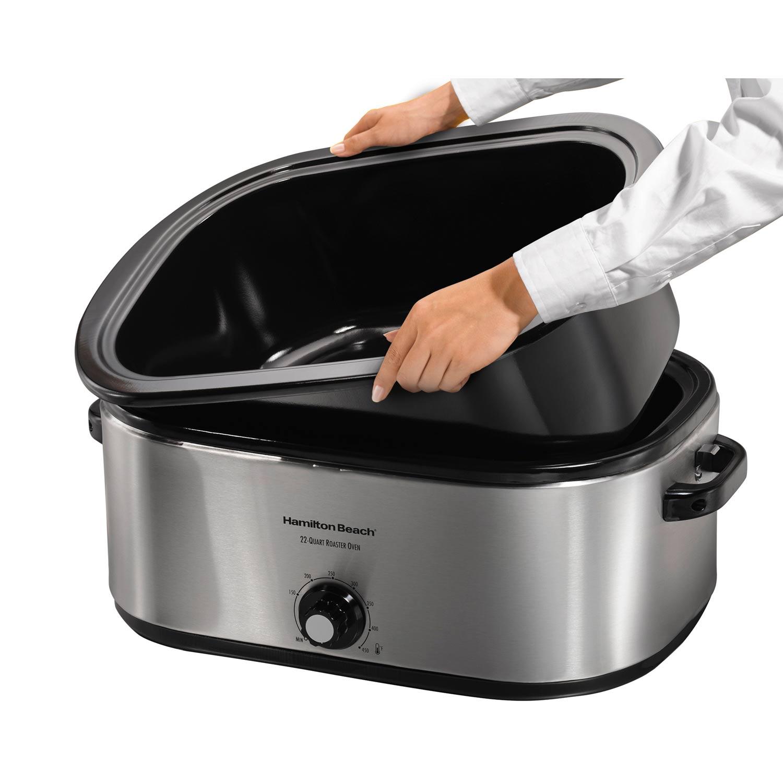 Hamilton beach 18-quart roaster oven walmart. Com.