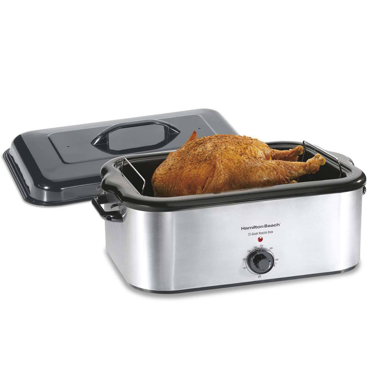 Stainless Steel 22 Quart Roaster Oven (32229Z)