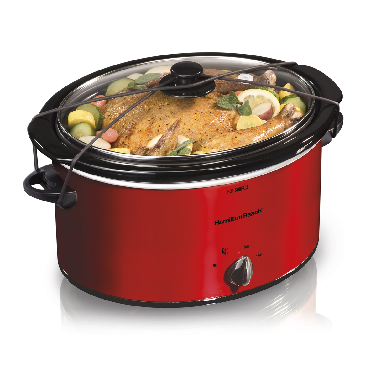 5 Quart Portable Slow Cooker (33155)